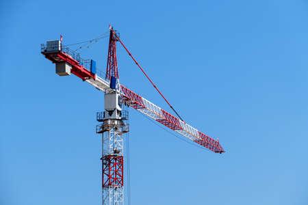 austrian: red-white-red crane. photo icon for austrian contractors