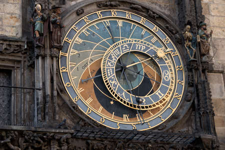 transience: prague, czech republic. the astronomical clock on the old town