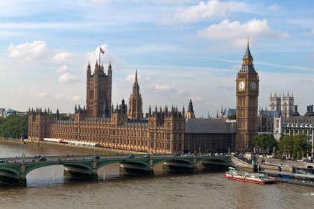 british english: the english parliament in london, united kingdom