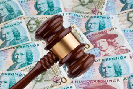 court process: swedish krona, the currency of sweden. costs for the rule of law and justice