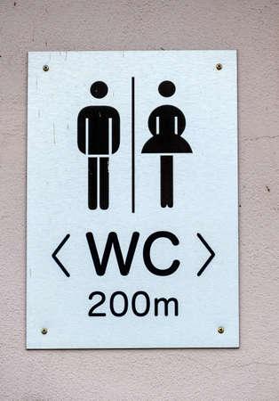 segregation: sign restrooms man woman, symbol of sanitation technology, gender segregation, hygiene,