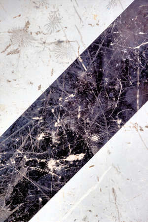 hardness: marble in black and white, icon background, structure, contrast Stock Photo