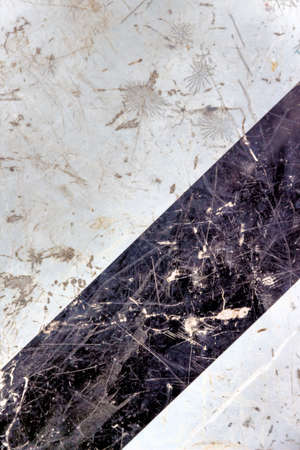 contrast: marble in black and white, icon background, structure, contrast Stock Photo