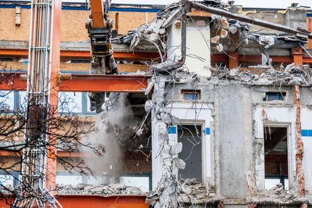 demolish: one older office buildings will be demolished. demolition instead renovation