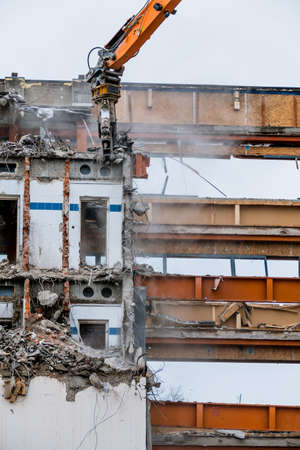 trade off: one older office building will be demolished to make way for a new building