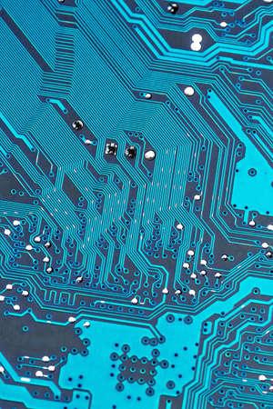 hard drive crash: computer board, symbol photo for computer hardware, miniaturization, high tech
