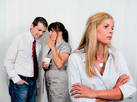 blockade: bullying at work in an office