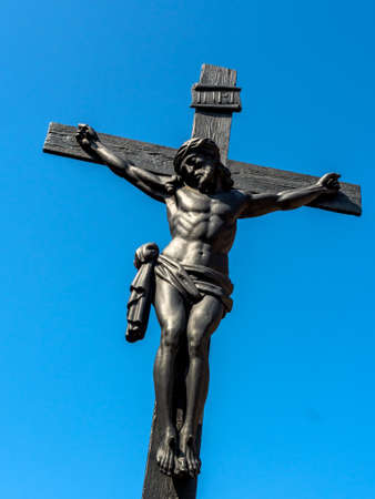 Crucifixion Jesus Christ Symbol Photo For Easter Stock Photo