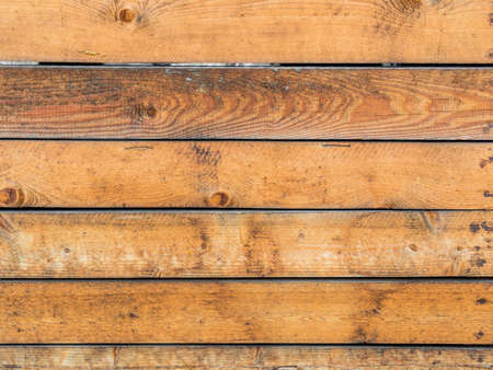 a wall of wooden slats with copy space. wooden wall as huintergrund for posters