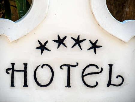 holydays: marking a 4 star hotels.