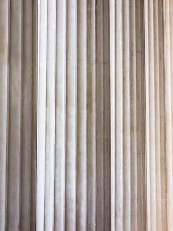 statics: columns at parliament in vienna