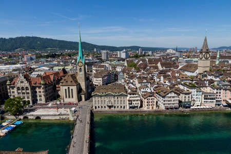 switzerland, zurich, view of the city Stock Photo