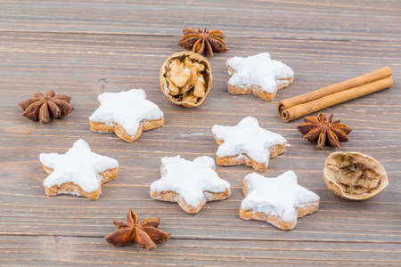 biscuits and cookies for christmas are baked