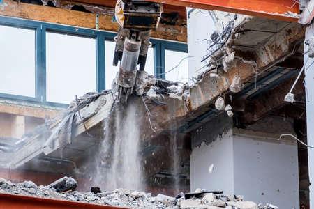 one older office buildings will be demolished. demolition instead renovation
