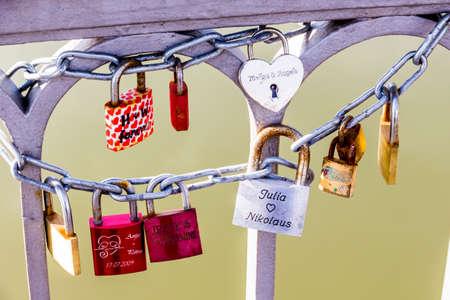 padlock shut off: padlocks symbolizing love