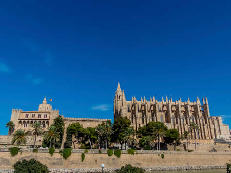 spain, mallorca, palma, cathedral