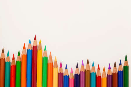 stationery needs: lots of colorful crayons