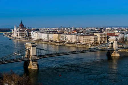 hungary, budapest, parliament Stock Photo