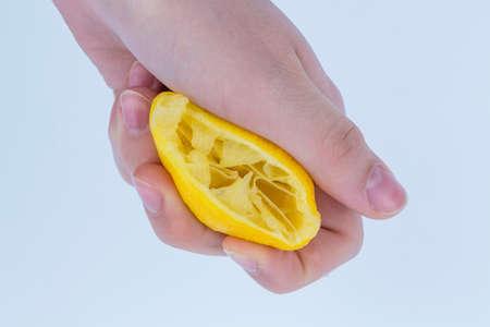 geperst citroen Stockfoto
