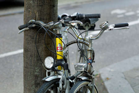 attached bicycles