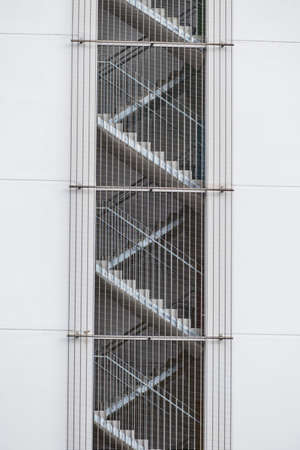 escape: fire escape with bars