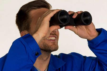 lull: craftsman with binoculars