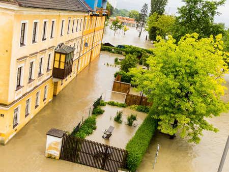 Overstroming 2013, linz, oostenrijk