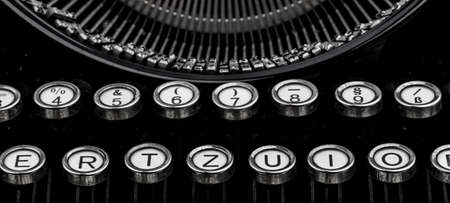 illiteracy: letters of a typewriter