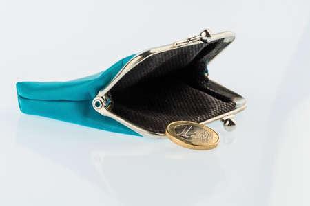 almost empty wallet