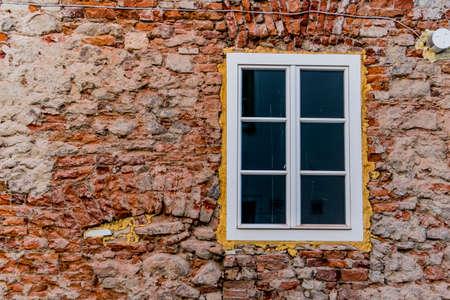 rehabilitated people: house masonry reconstruction