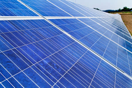 electricity tariff: alternative solar energy. solar energy power plant.