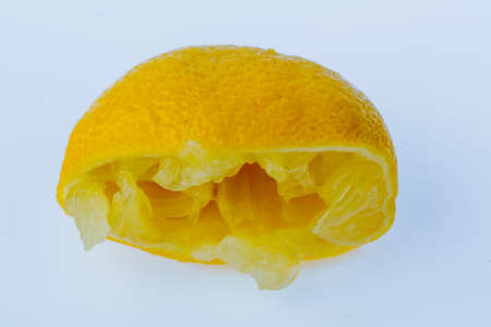 squeezed lemon