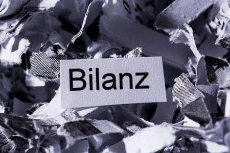 paper shred balance sheet
