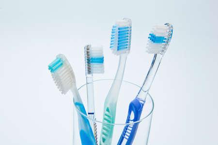 toothbrushes to brush teeth
