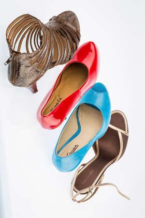ハイヒールの靴 写真素材