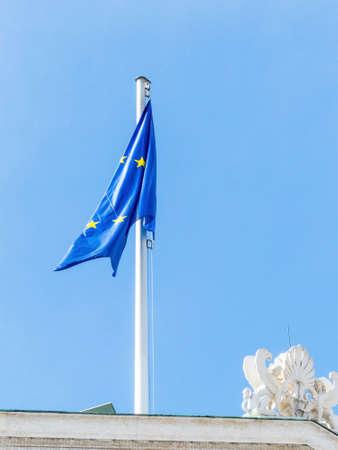 flag of the european union Imagens