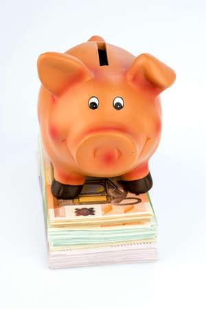 紙幣を貯金
