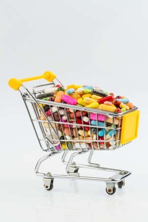 Tablets with shopping cart