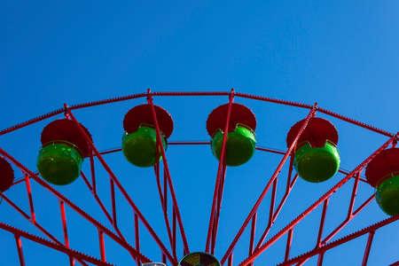 ferris wheel on a feast Stock Photo