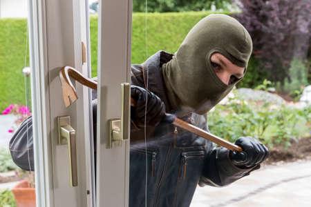burglar at a window