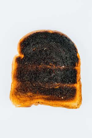 burnt toast slices of bread
