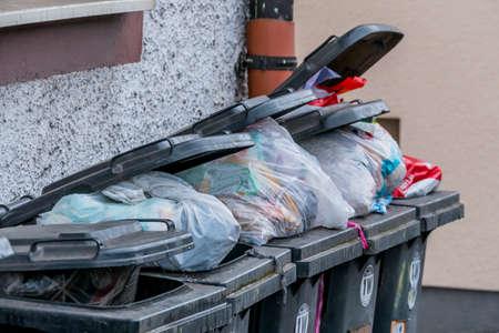 garbage container waste management
