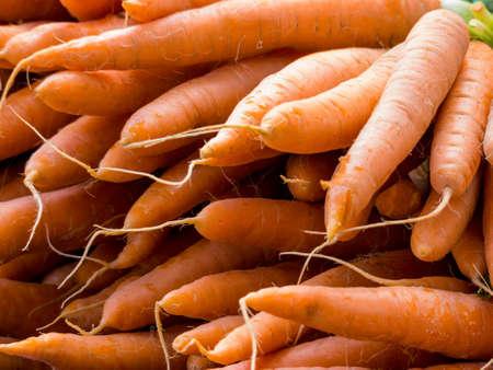 fresh carrots Foto de archivo