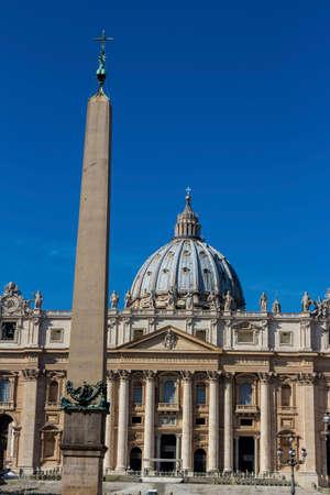 italy, rome, st. peters basilica Standard-Bild