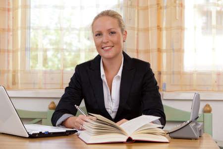 successful young entrepreneur Standard-Bild