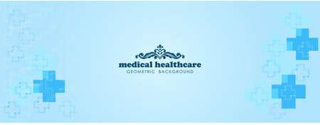 Background healthcare design vector