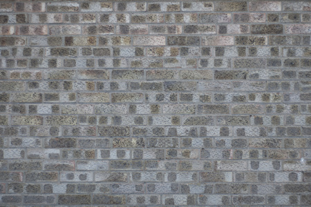 Brick gray blank wall texture 免版税图像