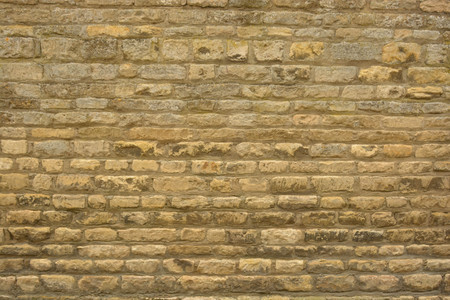 Old, real stone brick wall texture, brick wall background Stock Photo