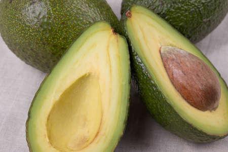 natural eco vegan avocadoes Фото со стока