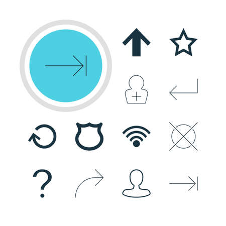 tabulation: Vector Illustration Of 12 User Icons. Editable Pack Of Conservation, Renovate, Top And Other Elements. Illustration